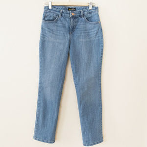 Lee High Rise Relaxed Fit Straight Leg Jeans